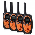 4er Set FLOUREON 4X PMR Walkie Talkies um 9 € statt 29,99 €