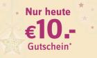 Nur heute: 10€ Gutschein (MBW 40€) @ Universal Versand