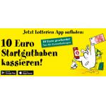10 € Startguthaben gratis bei App der Österreichischen Lotterien