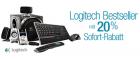 -20% auf ausgewählte Logitech Produkte u.a. Squeezbox @Amazon