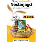 McDonalds Osteraktion – myMcDonald's Nesterjagd – Gutscheine holen