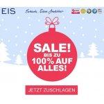Eis.at – Räumungsverkauf mit bis zu 95 % Rabatt & gratis Artikel