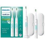 Philips Sonicare HX6857/34 ProtectiveClean 5100 elektrische Zahnbürste Doppelpack um 110,99 € statt 135,99 € – Bestpreis