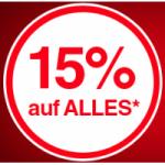 Quelle.at – 15% Rabatt auf fast ALLES (inkl. Apple, exkl. Smartphones)
