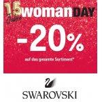 Swarovski WOMAN DAY –  20 % Rabatt auf fast ALLES (nur heute)