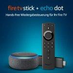 Fire TV Stick mit Alexa + Echo Dot (3. Gen) um 49,99€ statt 89,98 €