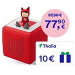 Toniebox Starterset + 10 € Thalia Gutschein um 77,90 €