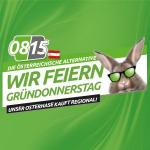 0815 Gründonnerstag Aktion – viele tolle Produkte bis 19.4.2020
