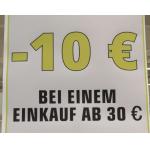 XXL Sports – 10 € Rabatt ab 30 € – nur heute in allen Stores außer online!