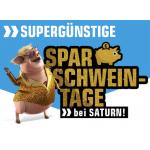 Saturn Sparschweintage mit Schnäppchenpreisen bis 03. Juli 2019