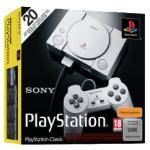 PlayStation Classic inkl. 2 Controller + 20 Spiele um 19 € statt 43,88 €