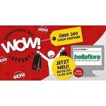 Weekend.at Shop – 25 % Rabatt auf Bellaflora Gutscheine (ab 12 Uhr)