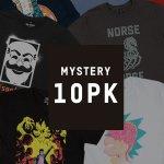 Mystery Geek T-Shirts 10er Pack inkl. Versand um 38,48 €