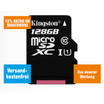 Kingston 128GB microSDXC Speicherkarte um 17,10 € statt 28,59 €