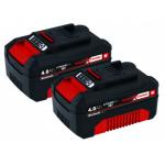 Einhell X-Change Akku-Twinpack (2 x 4.0 Ah Akkus) um 79 € statt 99,90 €
