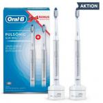 Oral-B Pulsonic Slim Duo mit 2. Zahnbürste um 39,90 € statt 66,99 €.