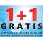 Lugner City 5D Kino 1+1 Gratis Ticket Aktion