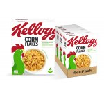 Kellogg's Cornflakes (4 x 360 g) um nur 6,77 € statt 11,96 €