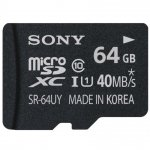 Sony microSDXC Class 10 64GB Speicherkarte um 15 € statt 25,54 €