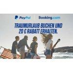 20 € Booking.com Gutschein (ab 150 €) bei PayPal Zahlung