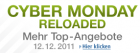 heute: Cyber Monday Reloaded Angebote vom 12.12.2011 @Amazon.de