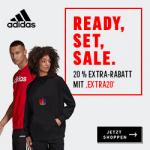 adidas Outlet – 20 % zusätzlicher Rabatt auf Artikel im Sale!