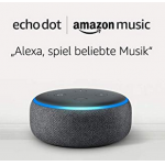 Echo Dot 3.Gen + 2 Monat Amazon Music Unlimited ab 26€ statt 53,36€