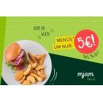 Menüs um nur 5 € bei Mjam – nur für Wien