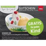 Gratis Portion Eis für Kinder bei Kika und Leiner