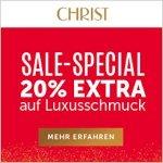 CHRIST Sale Special: 20 % Extra-Rabatt auf Luxusschmuck (bis 09.07.)