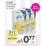 glade touch & fresh Limone Nachfüllpack um 0,77 € statt 1,95 € (ab 3 STK)