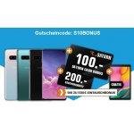 Samsung Galaxy S10 + GRATIS Galaxy Tab A um 599 € statt 664,99 €