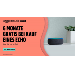 Echo Dot (3. Gen.) + 6 Monate GRATIS Music Unlimited um 19,49 €