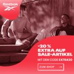 Reebok Outlet – 20% zusätzlicher Rabatt auf Sale-Produkte