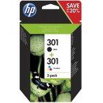 HP 301 / 302 Multipack Original Druckerpatronen um 16,57€ bzw. 15,56€