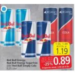 Red Bull (div. Sorten) um 0,79 € bei Interspar – UNTER VORBEHALT