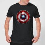 Captain America Wooden Shield T-Shirt um 10,99 € statt 16,99 €