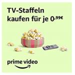 Prime Video – 90 TV-Staffeln um je nur 0,99 € statt bis zu 19,99 € kaufen