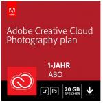Adobe Creative Cloud Foto-Abo mit 20GB (1 Jahr) um 99,99 € statt 143 €