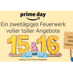 Amazon Prime Day Countdown Angebote vom 08. Juli 2019