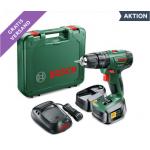 Bosch DIY PSR 1800 LI-2 Bohrschrauber inkl. 2 Akkus um 88 € statt 132 €