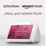 Amazon Echo Show + Amazon Music Unlimited (6 Monate) um nur 59,99 €
