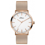 S.Oliver Damen Armbanduhr SO-3325-MQ um 37 € statt 99,24 €