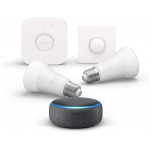 Echo Dot + Philips Hue White & Color Starter Set um 99,99 € statt 187 €