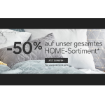 C&A Onlineshop: 50 % Rabatt auf das gesamte Home Sortiment