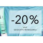 Douglas: 20% Rabatt auf Gesichts-Reinigung (mit Beauty Card)