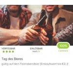 2 € Cashback auf Bier in der Marktguru App