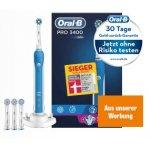 Oral-B Pro 3400 Elektrische Zahnbürste um 49 € statt 70 €