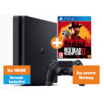 Sony PS4 1TB Slim + 2 Controller + RDR2 um nur 284 € statt 390,12 €