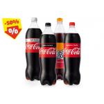 Coca-Cola (div. Sorten) 1,5 Liter Flasche um 0,89 € bei Hofer